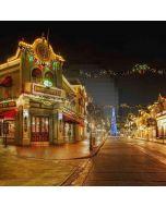 Christmas Night Street Computer Printed Photography Backdrop ZJZ-083