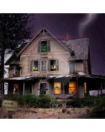 Haunted House Computer Printed Photography Backdrop ZJZ-504