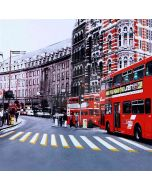 London Street Computer Printed Photography Backdrop ZJZ-673