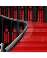 Red Stairs  Computer Printed Photography Backdrop ZJZ-727