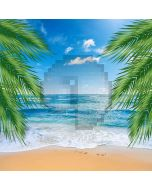 Beautiful Beach Computer Printed Photography Backdrop ZJZ-752
