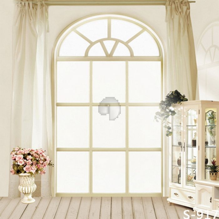 GladsBuy European Window 10 x 20 Computer Printed Photography Backdrop Indoor Theme Background S-917
