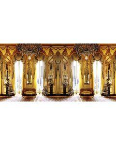 royal ballroom Computer Printed Dance Recital Scenic Backdrop ACP-107
