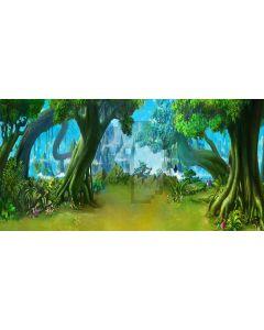forest park Computer Printed Dance Recital Scenic Backdrop ACP-208