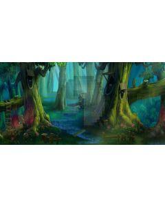 Strange tree Computer Printed Dance Recital Scenic Backdrop ACP-273