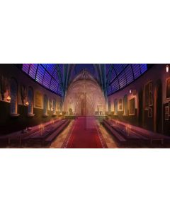 magnificence  place Computer Printed Dance Recital Scenic Backdrop ACP-304