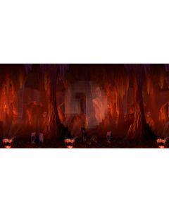 mystery caverns Computer Printed Dance Recital Scenic Backdrop ACP-321