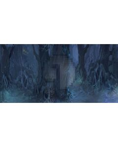 loneliness forest Computer Printed Dance Recital Scenic Backdrop ACP-383