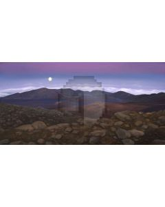 mountain range Computer Printed Dance Recital Scenic Backdrop ACP-385