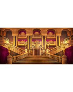 immaculate hall Computer Printed Dance Recital Scenic Backdrop ACP-418