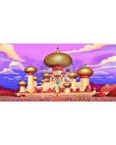 glorious palace Computer Printed Dance Recital Scenic Backdrop ACP-491