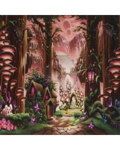 Lovely Wonderland Computer Printed Photography Backdrop LMG-021
