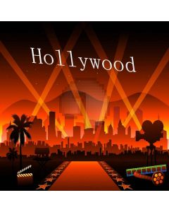 Famous Hollywood Computer Printed Photography Backdrop XLX-090