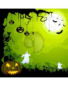 Halloween Night Computer Printed Photography Backdrop XLX-101