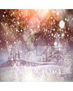 Falling Snow Digital Printed Photography Backdrop YHA-501