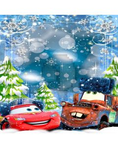 Lovely Cars Digital Printed Photography Backdrop YHA-535