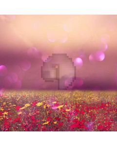 Colorful Flowers Digital Printed Photography Backdrop YHA-552