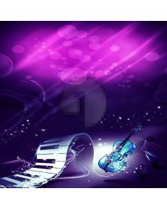 Exquisite Guitar Digital Printed Photography Backdrop YHA-561