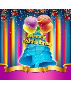 Merry Christmas Digital Printed Photography Backdrop YHB-003