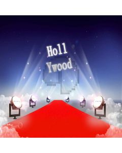 Hollywood Red Carpet Digital Printed Photography Backdrop YHB-038
