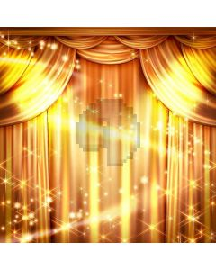Golden  Performance Digital Printed Photography Backdrop YHB-051