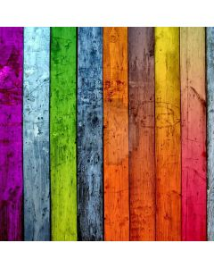 Colored Wood Strips Digital Printed Photography Backdrop YHB-073