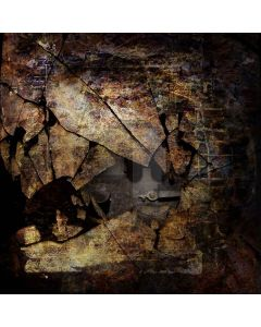Dilapidated Metal Digital Printed Photography Backdrop YHB-074
