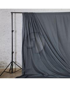 Gray Solid Color Pure Cotton Fabric Chromakey Backdrop
