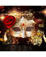 Rose Mask Computer Printed Photography Backdrop ABD-315