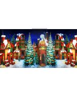 christmas house Computer Printed Dance Recital Scenic Backdrop ACP-469