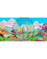 candy family Computer Printed Dance Recital Scenic Backdrop ACP-502
