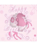 Birthday Pink Computer Printed Photography Backdrop AUT-659
