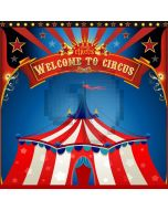 Welcome To Circus Computer Printed Photography Backdrop HXB-012