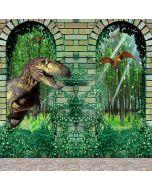 Vicious Dinosaur Computer Printed Photography Backdrop LMG-080