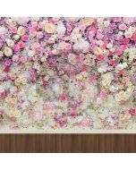 Colorful Flower Computer Printed Photography Backdrop S-1232
