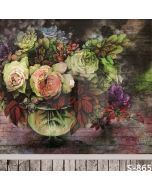 Fresh Flowers Computer Printed Photography Backdrop S-865