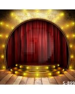 Closed Curtain Computer Printed Photography Backdrop S-899