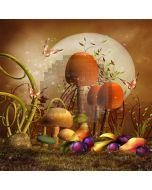 Lovely Mushroom Computer Printed Photography Backdrop XLX-647