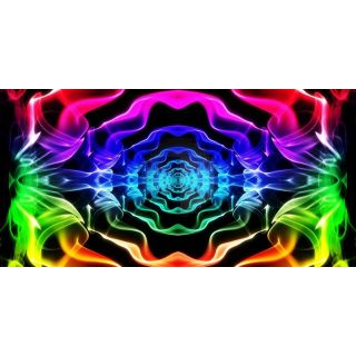 Colors Abstract Art Computer Printed Dance Recital Scenic Backdrop ACP-1284
